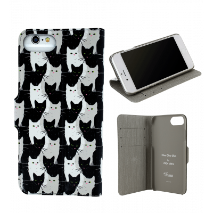 Custodia a portafoglio per iPhone 6, 6S, 7 - Iwallet 2 Cha Cha Cha