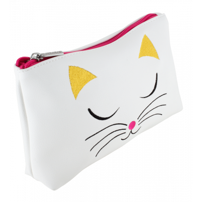 Trousse da trucco - Brody White Cat