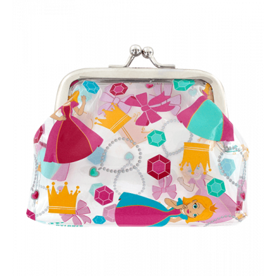 Purse with clasp close - Clipurse Princess