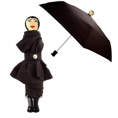 Compact umbrella - Rain Parade Black