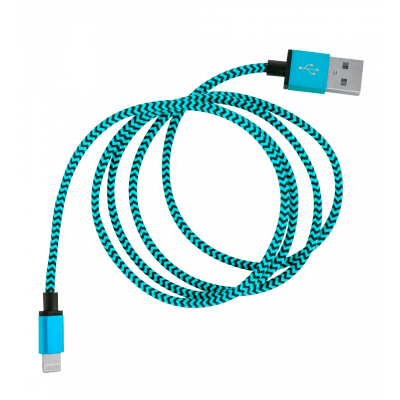 USB-Kabel für iPhone - Vintage Blau