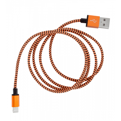 USB-Kabel für iPhone - Vintage Orange