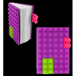 Agenda in silicone - Briques Viola