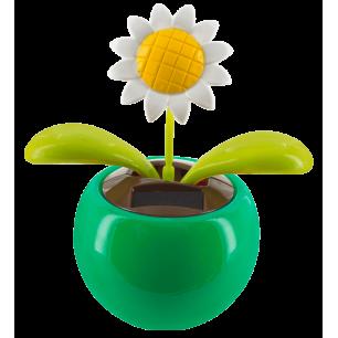 Solarfigur - Dancing Flowers Marguerite Vert