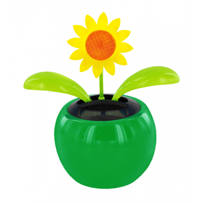 Solar-powered - Dancing Flowers Tournesol Vert