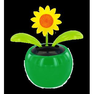 Solarfigur - Dancing Flowers Tournesol Vert