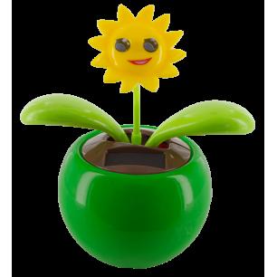 Solarfigur - Dancing Flowers Smile Vert