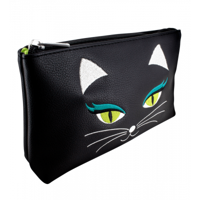 Make-up-Beutel - Brody Black Cat