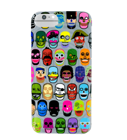 Coque pour iPhone 6S/7/8 - I Cover 6S/7/8 Skull 3