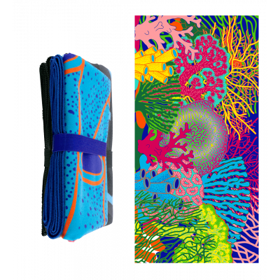Microfibre towel - Body DS Coral Rainbow