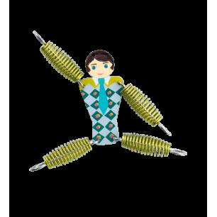 Keyring - Grigri Boy Green