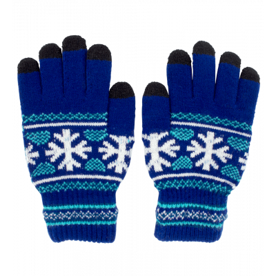 Touchscreen gloves - Hand in glove Point de froid