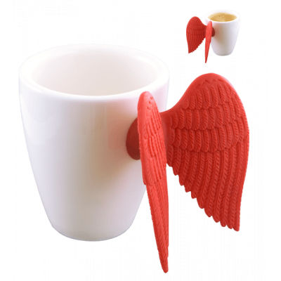 Espresso cup - Angel Express Red