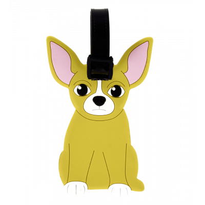 Luggage label - Ani-luggage Chihuahua