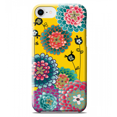 Coque pour iPhone 6S/7/8 - I Cover 6S/7/8 Dahlia