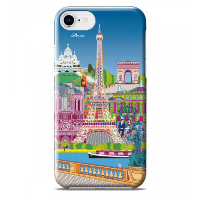 Coque pour iPhone 6S/7/8 - I Cover 6S/7/8 Paris new
