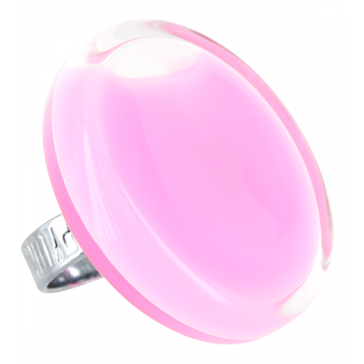 Glass ring - Cachou Giga Milk Bubble Gum