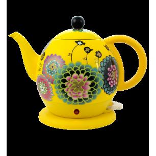 Electric kettle with English plug - Byzance Dahlia