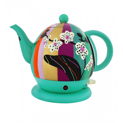 Electric kettle with English plug - Byzance Orchid