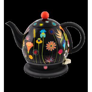 Electric kettle with English plug - Byzance Jardin fleuri
