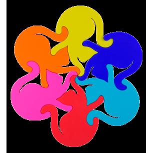 Dessous de plat - Entrechats Multicolore