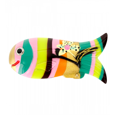 Etui poisson - Fish Case Orchid