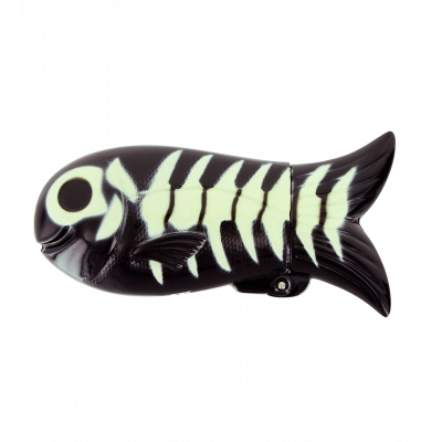 Étui poisson - Fish Case Skeleton