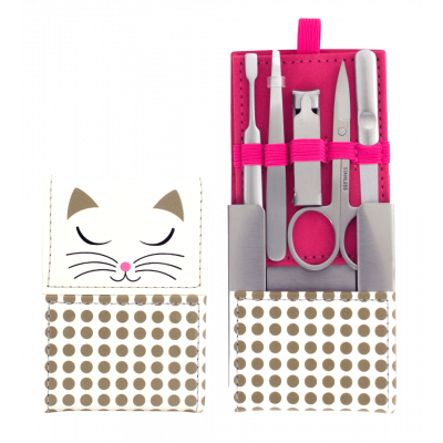 Manu - Manicure kit White Cat