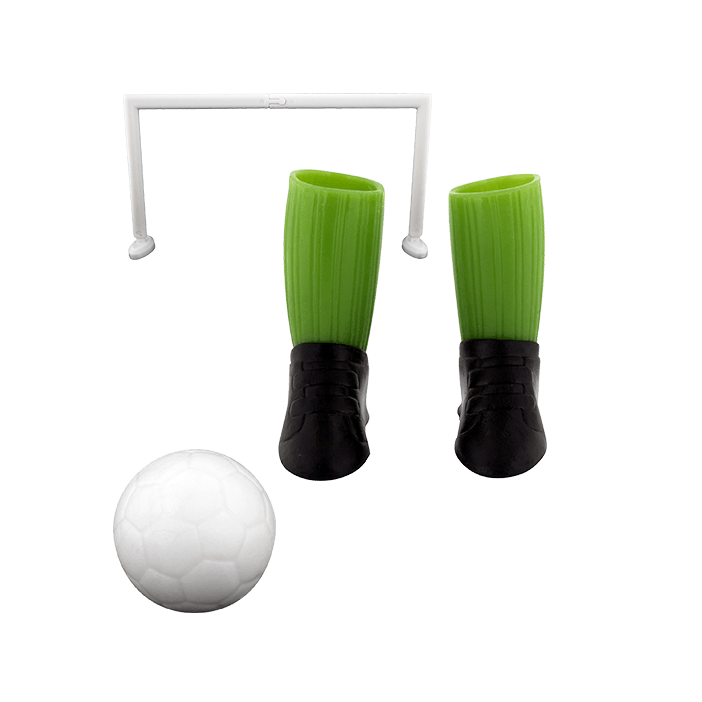 Finger Football Game Green Pylones