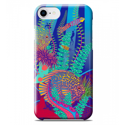 Coque pour iPhone 6S/7/8 - I Cover 6S/7/8 Octopus