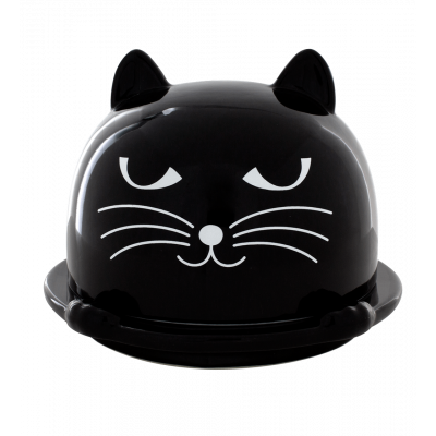 Butter dish - Patapon Black
