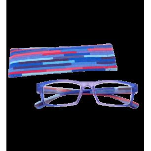 Lunettes de correction - Multicolor - Violet/Bleu 250