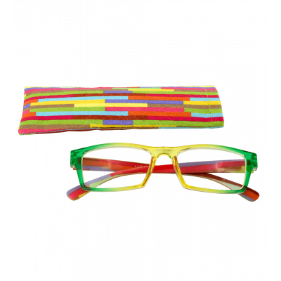Corrective lenses - Multicolor - Yellow/Green 200