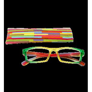 Lunettes de correction - Multicolor - Jaune/Vert 250