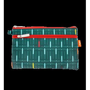 Täschchen mit 2 Reißverschlüssen - Zip Pouch Léonard