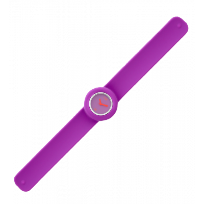 Slap watch - Time Purple