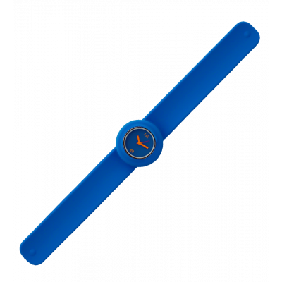 Slap watch - Time Dark Blue