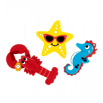 3er-Set Magnete - Magnet Octopus Happy Sea