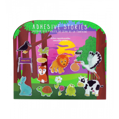 Stickers histoires  - Adhesive Stories Fables