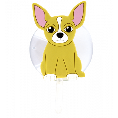 Suction hook - Ani-holder Chihuahua