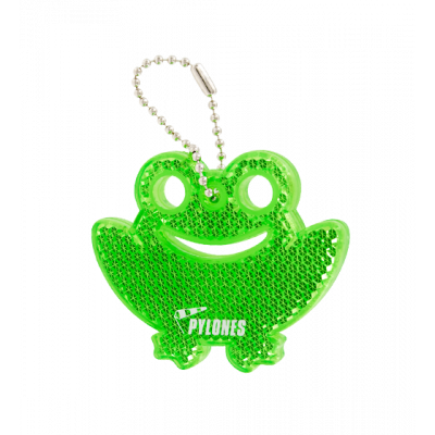 Flashy - Reflective keyring Frog