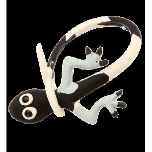 Braguette Magique - Bracelet pour enfant lézard Noir / Blanc