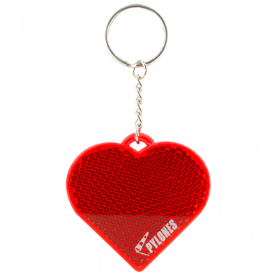 Flashy - Reflective keyring Heart