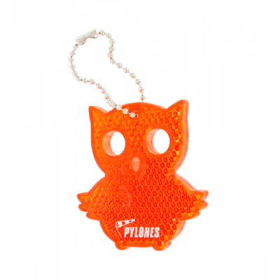 Flashy - Reflective keyring Owl