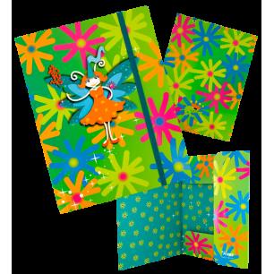 FLD. Akademic - A4 cardboard folder Fairy