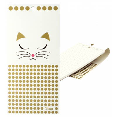 Bloc-notes magnetico - Taccuino Formalist White Cat