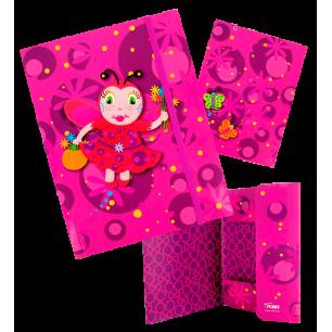 Cartellina in cartone A4 - Akademik Ladybird