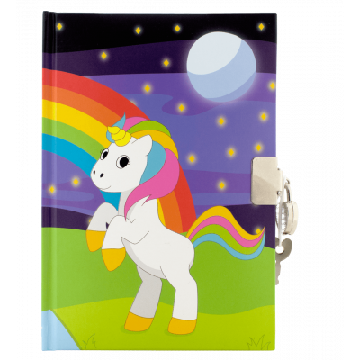 Carnet secret - My secret notes Licorne