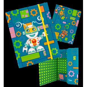 FLD. Akademic - A4 cardboard folder Robot