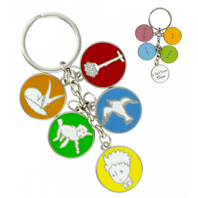 Keyring - Charms 2 Le Petit Prince Ronds